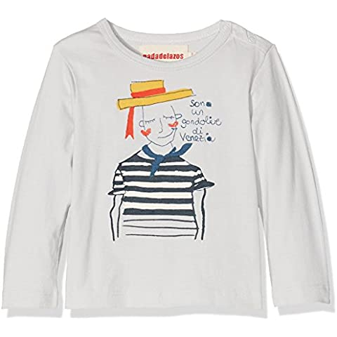 nadadelazos Tee Gondolieri, Camiseta De Manga Larga para Bebés
