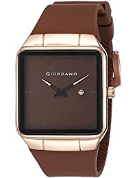 Giordano Analog Brown Dial Men's Watch - 1805-02