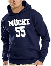 Mücke Kapuzen Sweatshirt - Pullover S-XXXL div. Farben
