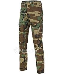 Lanbaosi Pantalon Costume Tenues de Combat Pantalon Uniforme militaire Paintball