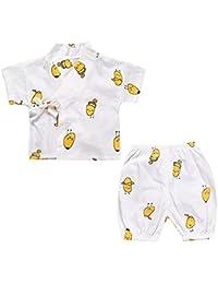 Fairy Baby Kimono para Niños Niñas Conjuntos de 2 Piezas Camisa+Shorts Bombacho
