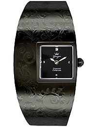 Yonger pour elle DMN 1474/01 D - Reloj , correa de acero inoxidable color negro