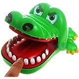 لعبة الاطفال الابداعية طفل التمساح الفم طبيب الاسنان لعبة مضحكة