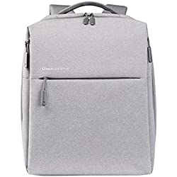 "Xiaomi Mi City Gray Polyester Backpack - Backpack for laptops and netbooks (Polyester, Grey, Monotonous, Unisex, 33 cm (13""), 35,6 cm (14""))"