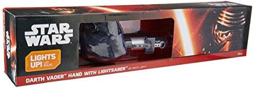 Star Wars Darth Vader Lichtschwert 3D Light FX LED Kinderlampe -Nachtlicht für kinder mit automatische Abschaltung und wandaufkleber (Teenage Mutant Ninja Turtles Schlafzimmer)