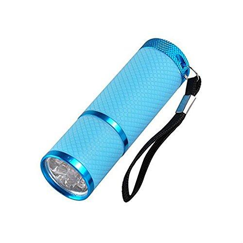 Colorful Mini UV-Lampe 9LED für fast dry Cure nailr Pets/Baby Urin/Pee Rauchmelder Trockner Hunde...