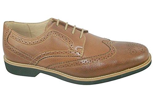 Anatomic&Co Manaus - Zapatos de cordones de Piel para hombre Marrón Marrone (Cognac Toast) 6Og5g6PJ