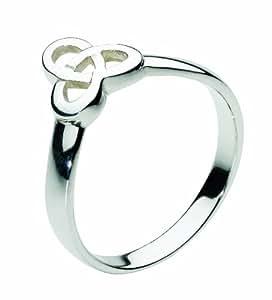 Heritage Celtic Trinity 1/2 Wishbone Ring- Size L