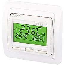 Elektrobock PT712 - Termostato digital termostato pt712 para calefacción por suelo radiante
