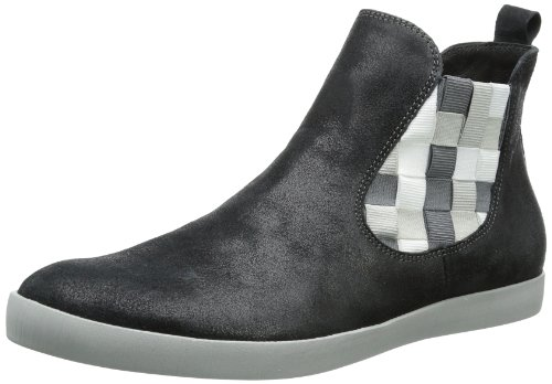 Damen Schwarz kombi Slipper 82030 Seas Think sz 09 wq4HSS