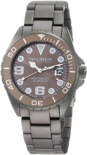 Haurex Italy Herren-Armbanduhr XL Ink Analog Aluminium 7K374UGG