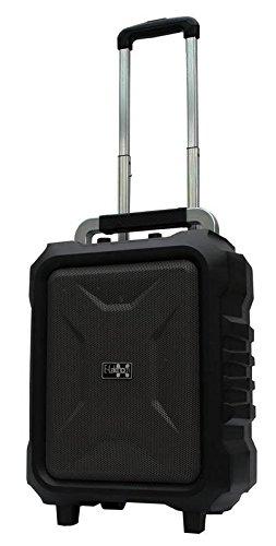 E-Lektron EL20-MB mobiles Soundsystem USB/micro-SD Bluetooth Soundanlage Musikkoffer mit Akku