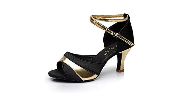 puma danse noir chaussure 35 ecriture dore semelle haute