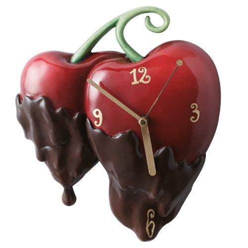 Timewarp Choc and Cherries Wall Clock
