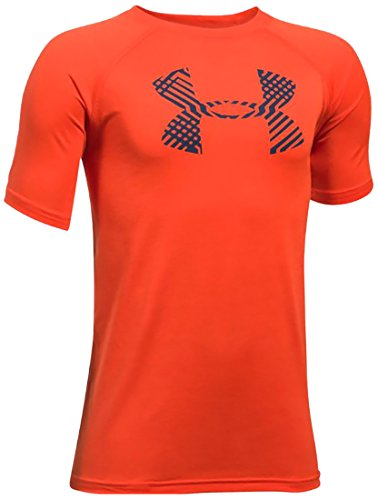 Under Armour Ua Tech Big Logo Ss, Maglietta Bambino, Blu, M