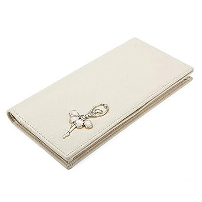 ZLR Mme portefeuille Portefeuille en cuir de vachette à la mode