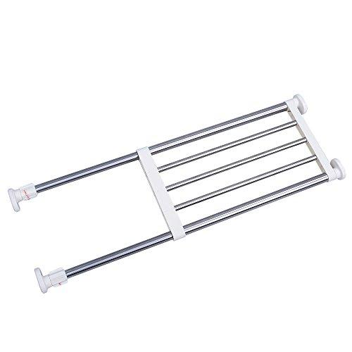 Baoyouni La tensión extensible estante del armario de almacenamiento en rack de...