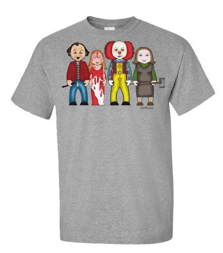 VIPwees Kings Creations T-shirt da uomo Grey