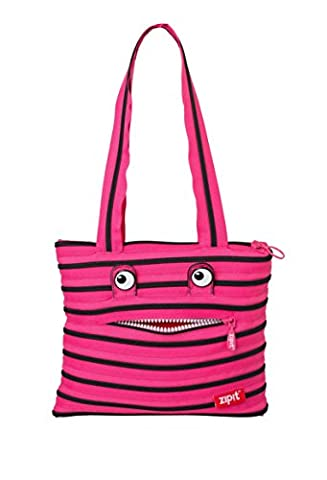 ZIPIT Monster Children Tote Bag, Pink by ZIPIT