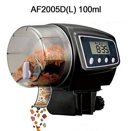 Haol Digital LCD Automatische Aquarium Fish Feeder Timer Lebensmittel Fütterung Elektronische Timer Fischbedarf,L Duplex-digital-lcd