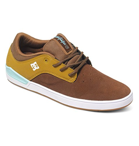 DC - - Herren Mikey Taylor 2 S Low Top Freizeitschuh Brown/Brown/Blue