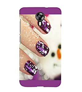 printtech Nail Paint Back Case Cover for Micromax Canvas Xpress 2 E313