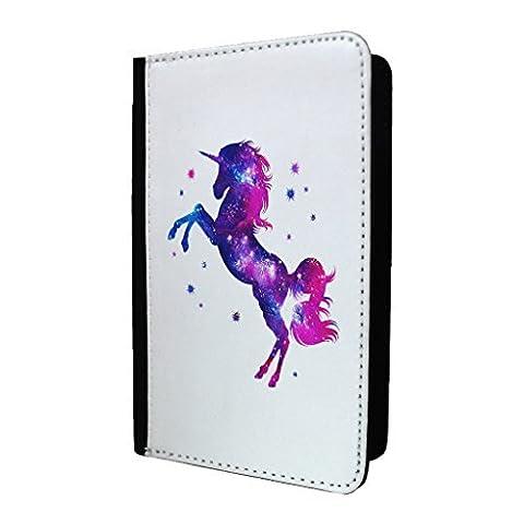 Licornes Univers Porte-passeport Étui Coque - S1988