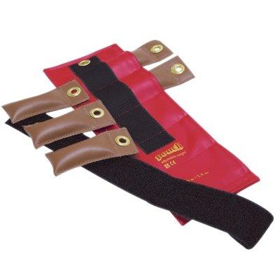 Die Manschette 10–3335–2Pädiatrische Knöchel Gewicht, 2lb, 12x 0,17LB fügt, Tan, 2.5 lb, rot, 1
