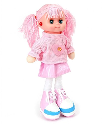 Gifts Online Cute Doll with Light and Music - (Pink)