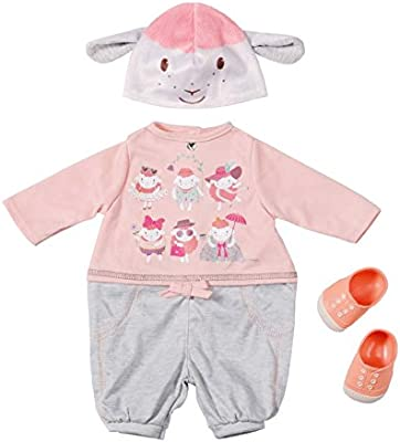 Zapf Creation 794623 - Baby Annabell Deluxe Set rosa casual elegante