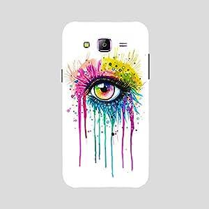 Back cover for Samsung Galaxy A5 Rainbow Eye Art