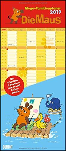 Die Maus 2019 - DUMONT Mega-Familienkalender