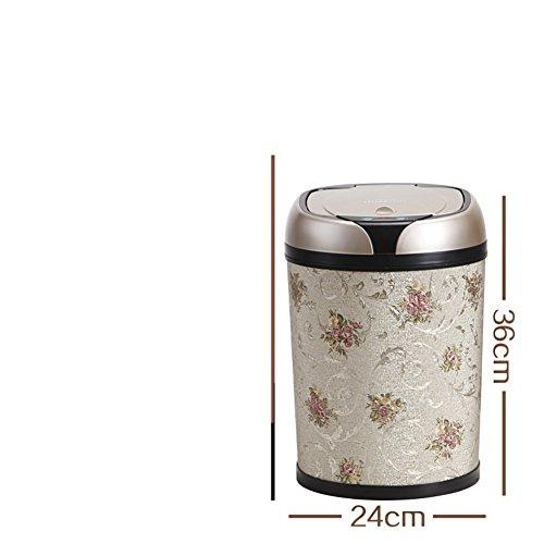 Küchen-Abfalleimer WYMNAME Trash dose Runde Harz Abfall-behälter für küchen Die bäder Schlafzimmer Office-D