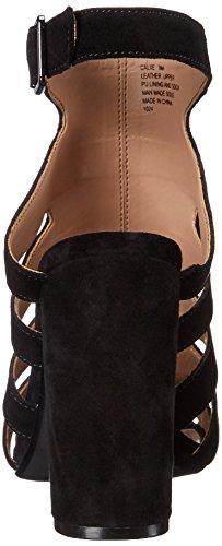 Steve Madden Caliie Dress Sandal Black Suede