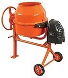 Hormigonera eléctrica 160 litros bricolaje