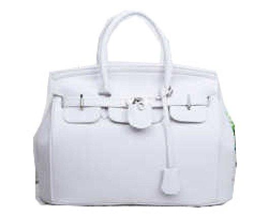 PACK Borse In Pelle Borse In PU Borse Messenger Bag In Pelle Morbida In Tessuto Elegante Elegante,B:Red A:White