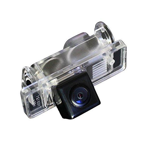 Dynavision Telecamere posteriori in luce targa (NTSC) Nero per Viano 2004-2012 Vito 2004-2012 Sprinter 2004-onwards,W639