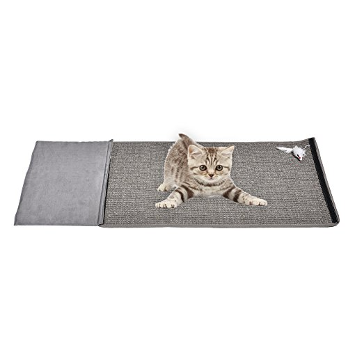 Katze Sisal Kratzmatte Katze Scratcher Post Spielzeug Möbel Beschützer Pad XL Größe (Scratcher Sisal)