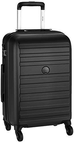 Delsey ABS 55 cms Anthracite Hardsided Cabin Luggage (00351980101)