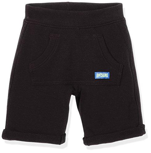 Blue Seven Jungen Shorts Sweat-Bermuda, (Schwarz 999), 128