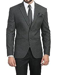 BREGEO Men's Slim Fit Blazer