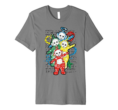 Teletubbies Arthouse T-shirt for Adults - 5 colours - S to 3XL