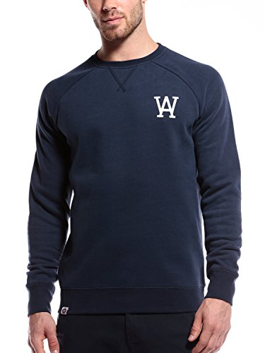 WOLDO Athletic Herren Pullover Sweatshirt Sweater Raglan Rundhals (Herren Raglan-Ärmel)