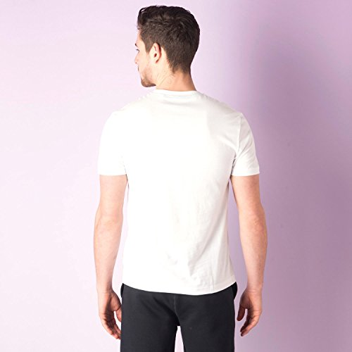 Original Penguin Herren T-Shirt White - Navy