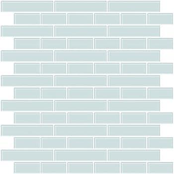 """Subway/Metro Glass Mosaic Tiles 3"""" x 6"""" Bricks - Kitchen"""