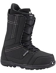 Hombre botas de Snowboard Burton Invader, color Negro - negro, tamaño 13