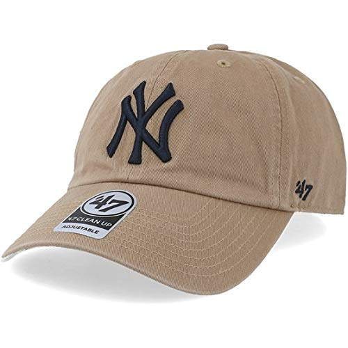Imagen de  curva beige de new york yankees mlb clean up de 47 brand  beige, talla única