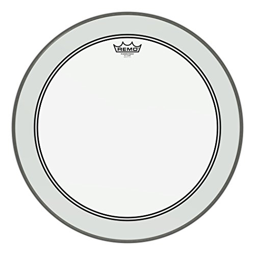 Remo P3-1322-C2 Bass-drum Powerstroke 3 Clear 55,8 cm (22 Zoll)