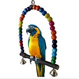 Colorful Schaukeln Bird Toys Parrot Ständer Sittiche Nymphensittiche Finch Unzertrennliche Wellensittich