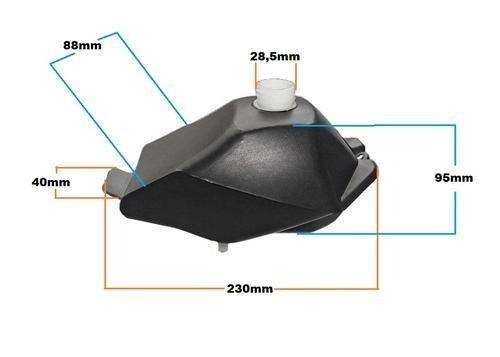 Tank Tankbehälter für Python Cobra & Hobbit 49 cc 2 Takter Bike Quad ATV